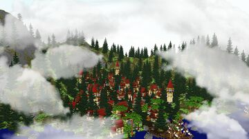🔮VILLAGE🔮   -   MOTIVATION Minecraft Map & Project