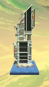 CyberPunk Maritime Outpust Minecraft Map & Project