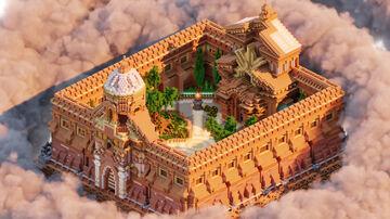 🏰Main Fortress HUB ► PhoenixBuilds🏰 [FREE DOWNLOAD] Minecraft Map & Project