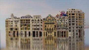 Illa de la Discórdia, Barcelona, Spain Minecraft Map & Project