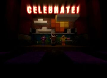 Five Nights at Freddy's 1: Origins Minecraft Map & Project