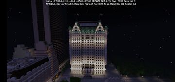 New York City Central Park & Central Park South Minecraft Map & Project