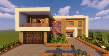 Modern House #130 (Map + Schematics) Minecraft Map & Project