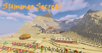 Summer Secrets - Resort and Water Park Island [v1.1] [1.17+] Minecraft Map & Project