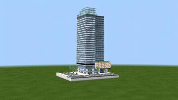Philippine Stock Exchange Tower - BGC, Philippines Minecraft Map & Project