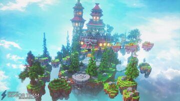Fantasy Castle Hub Minecraft Map & Project