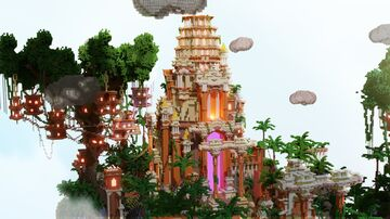 Lobby for the iSkyBlock.pl server. Minecraft Map & Project