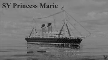 SY Princess Marie (1909) | Full Interior | Download Minecraft Map & Project