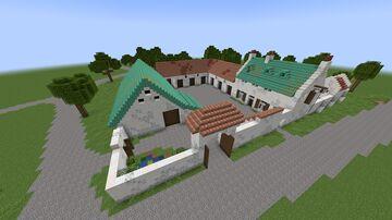 La Haye Sainte, Waterloo Minecraft Map & Project