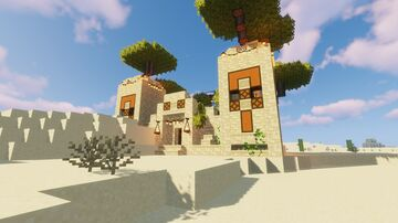 Desert Temple CIT Transformation (WITH VIDEO TOUR) Minecraft Map & Project