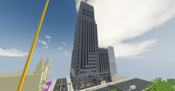 San Franisco building from google maps! Minecraft Map & Project