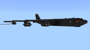 B52 Stratofortress Minecraft Map & Project