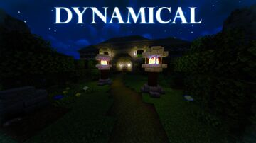 Dynamical Minecraft Map & Project