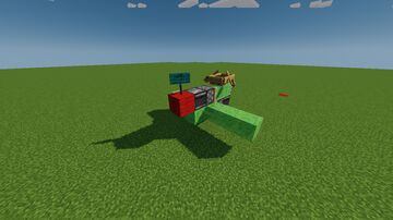 Simple Flying Machine Minecraft Map & Project