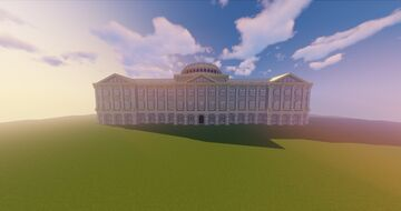 Neoclassical Palace (Interior Empty) Minecraft Map & Project