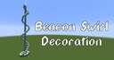 Beacon Swirl Decoration Minecraft Map & Project