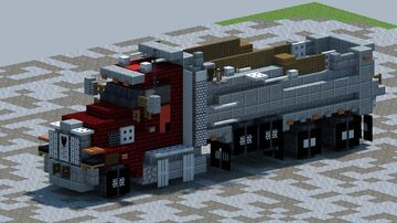 Western Star 49X, Dump truck [With Download] Minecraft Map & Project