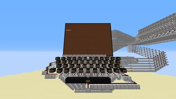 Redstone Word Processor Minecraft Map & Project