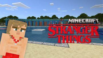 Stranger Things: Hawkins Community Pool (BEDROCK) Minecraft Map & Project
