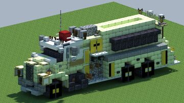 Dodge LCF, Fire pumper tanker [With Download] Minecraft Map & Project