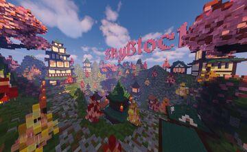 Oriental Skyblock Spawn Minecraft Map & Project