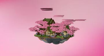* Pink SPRING Lobby* Minecraft Map & Project
