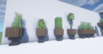Garden & Home Decorations    Декорации Для Сада и Дома (Minecraft 1.16+) Minecraft Map & Project