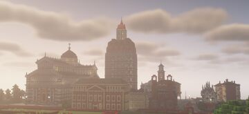 Continental - A multipurpose and modular Art Déco building Minecraft Map & Project