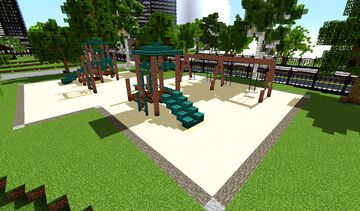 Small Playground Minecraft Map & Project
