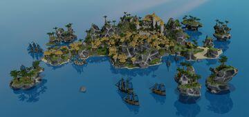 SOLAR LAGOON - Minecraft Hub Minecraft Map & Project