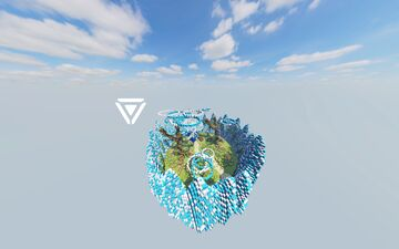 Heart Cloud Arena Map Minecraft Map & Project