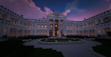 My Dream House - Mount Wernon Palace Minecraft Map & Project