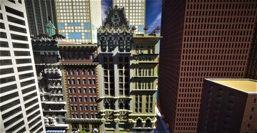 New York historical building 2 Minecraft Map & Project