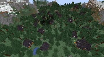Halloween cottages Minecraft Map & Project