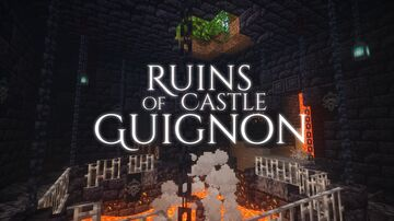The Ruins of Castle Guignon - MazeMaker Contest Entry (FR/EN) Minecraft Map & Project