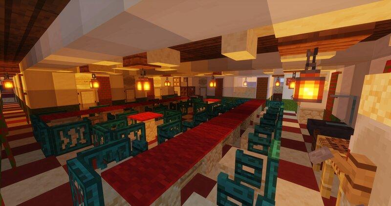 Saloon Class Dining Area