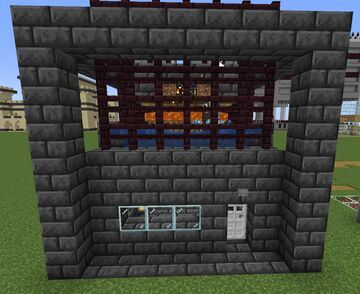 Automatic Cow And Sheep Farm With Spawners 1.17.1 Minecraft Map & Project