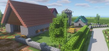 Beltot, France (Call of Duty 2 MP Map) Ver. 1.17.1 Minecraft Map & Project
