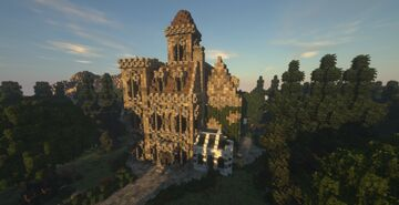 𝓜𝓪𝓰𝓲𝓬 𝓜𝓪𝓷𝓼𝓲𝓸𝓷 (Hapel.pl) Minecraft Map & Project