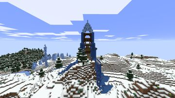 Ice Drip Tower Minecraft Map & Project