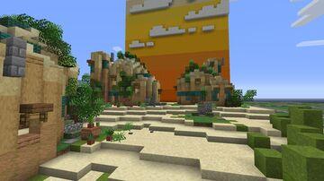 Desert Huts Minecraft Map & Project