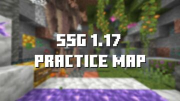 SSG 1.17 PRACTICE MAP v1.0 Minecraft Map & Project