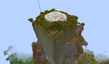 Freefall jump parcour Minecraft Map & Project