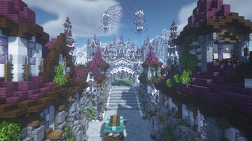 The Elven Homeland of Valyria [RECRUITING BUILDERS] Minecraft Map & Project