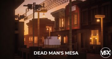 Dead Man's Mesa | Wild West Inspired Town | Builder's Forge Minecraft Map & Project