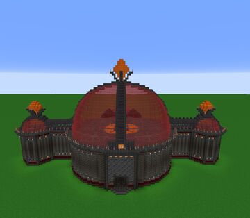 Evil Castle updated Minecraft Map & Project