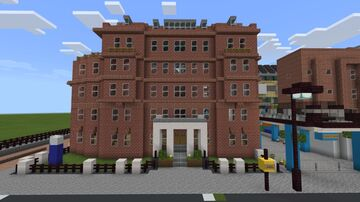 Great Ormond Street Children's Hospital Minecraft Map & Project