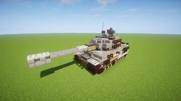 二战德国虎式坦克 Minecraft Map & Project