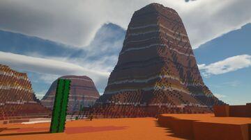 Badlands Minecraft Map & Project