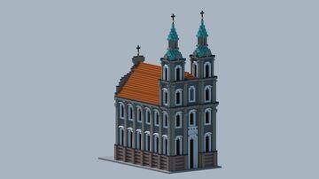 Holy Cross Church, Brzeg Minecraft Map & Project